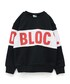 BLOC(ブロック)の「キリカエブロックスウェット(ブラック)(スウェット)」