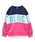 BLOC(ブロック)の「キリカエブロックスウェット(ネイビー)(スウェット)」