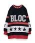 BLOC(ブロック)の「ブロックガールスウェットワンピース(ブラック)(ワンピース)」