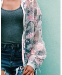 Anthropologie | (Bomber jacket)