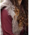ANN TAYLOR | (Down vest)