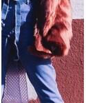 stripes hood | (Overcoat)