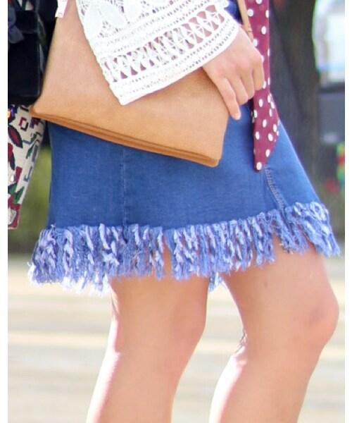 FOREVER 21「Denim skirt」