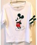 UNIQLO | ユニクロミッキーTシャツ(Tシャツ・カットソー)