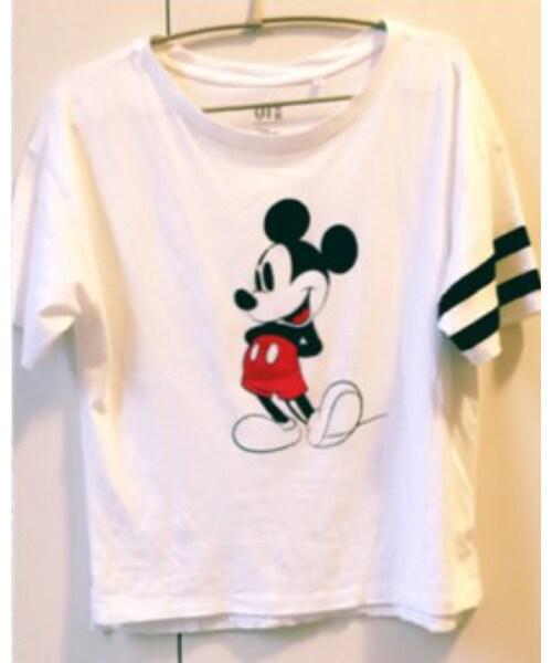UNIQLO(ユニクロ)の「ユニクロミッキーTシャツ(Tシャツ・カットソー)」