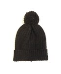 O project KNITTED BEANIE DARK BROWN(ニットキャップ・ビーニー)