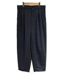house of the very island's LOOSE CUT TROUSERS BLUEGREY(スラックス)