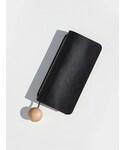 BUILDING BLOCK Book Wallet Black(財布)