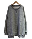 My Beautiful Landlet fleecy knitting sweat L.GREY(スウェット)