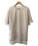 FFIXXED STUDIOS DOUBLE DANIEL BEIGE WHITE STRIPE(Tシャツ・カットソー)