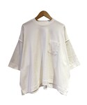 tim. wide tee WHITE(Tシャツ・カットソー)