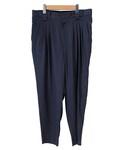 tim. 4tucks tapered pants NAVY(スラックス)