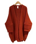 O project KNITTED CARDIGAN BLOOD(カーディガン)