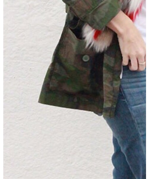 J.CREW「Military jacket」