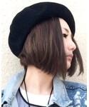 SPINNS   (ハンチング・ベレー帽)