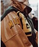 VINTAGE | (Baseball jacket)
