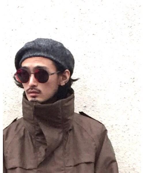 KIJIMA TAKAYUKI(キジマ タカユキ)の「ハンチング・ベレー帽」