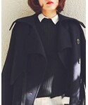 GU | エクストラロングスリーブセーター(S)(ニット・セーター)