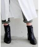 ZARA | サイドゴアブーツ(ブーツ)