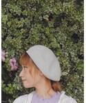 カオリノモリ | #カオリノモリstaff(ハンチング・ベレー帽)