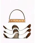 ZARA | フリル巾着型バッグ