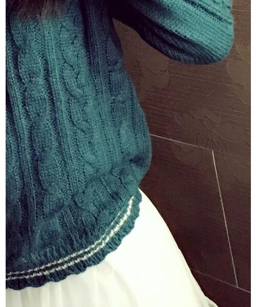 axes femme(アクシーズファム)の「ニット・セーター」