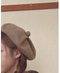 Samansa Mos2 | (ハンチング・ベレー帽)