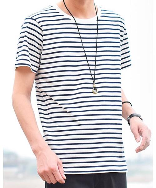 夏の主役はボーダーカットソー☀️の「Tシャツ・カットソー」