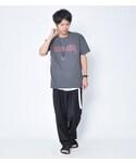 ブラックバージョン😆   BIGシルエットプリントTシャツ(Tシャツ・カットソー)