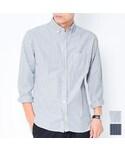 [ BRAND ] Dcollection ストライプシャツ(商品番号:t102)(シャツ・ブラウス)