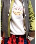 Hard Rock Cafe | Classic Logo Hoodie Grey(パーカー)