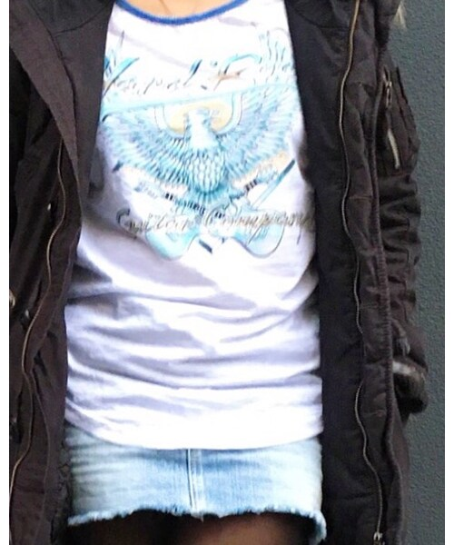 Hard Rock Cafe(ハードロックカフェ)の「GTR Co. Eagle Burnout Raglan(Tシャツ・カットソー)」
