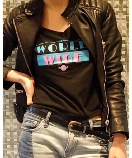 Hard Rock Cafe(ハードロックカフェ)の「LDS PITBULL T(Tシャツ・カットソー)」