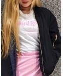 Hard Rock Cafe | PINK LOGO WHITE(Tシャツ・カットソー)