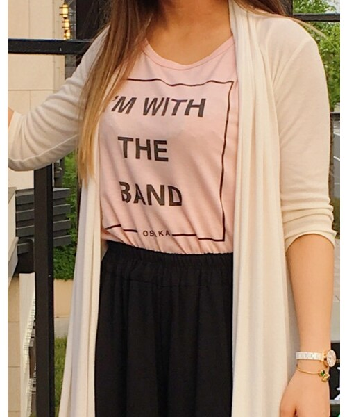 Hard Rock Cafe(ハードロックカフェ)の「I'm with the band tank(タンクトップ)」