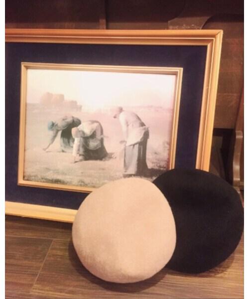 Leah-Kの「ハンチング・ベレー帽」