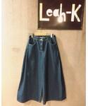 Leah-K | (デニムパンツ)