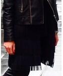 madewell | (Collarless jacket)