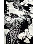 グラースオリジナル ペイズリー片身変わり小紋(着物・浴衣)