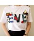 minsshop(ミンスショップ)の「EVE刺繍Tシャツ(Tシャツ・カットソー)」