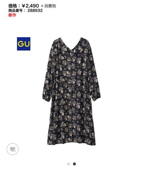 GU(ジーユー)の「ワンピース」
