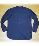 UNIQLO | フランネルスタンドカラーシャツ(シャツ・ブラウス)