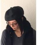 D,ari   (ハンチング・ベレー帽)