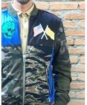 DIESEL   (Bomber jacket)