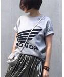 mayu.t|GUのTシャツ・カットソーを使ったコーディネート - WEAR