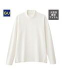 GU   モックネックT(長袖)CL(Tシャツ・カットソー)