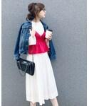 TONAL | ボイルギャザースカート(スカート)