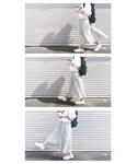 TONAL   【CLASSY. 6月号 掲載】シフォンプリーツスカート(スカート)
