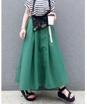 OLD BETTY'S | Volume Long Skirt/ボリュームロングスカート(スカート)