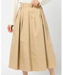 UNRELISH | ツイルフレアースカート(スカート)